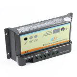energía solar de 20A 12V/24V/regulador con la Dúo-Batería para rv dB-20A