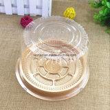 Gâteau personnalisé en plastique jetables Emballage Emballage Contenants de boulangerie