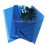12mm de verre teinté Ocean-Blue&couleur pour la décoration en verre/bâtiment