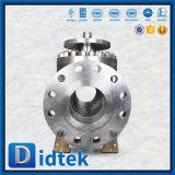 Шариковый клапан входа пожара Didtek безопасный ручной верхний при управляемая шестерня
