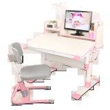 E1 MDF ergonomique réglable le travail à domicile pour enfants Kids Table A07