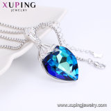 44330 목걸이 Fashion Accessories, Swarovski Elements Jewelry를 가진 Heart Shape Necklace Crystals