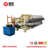 Filtro de membrana automática de alta calidad para la prensa de óxido de aluminio