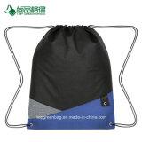 経済的な耐久のNon-Woven十字のスポーツの網の三角形のアクセントのドローストリングのパック袋
