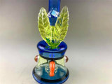 Wholesale Glass Hookah 7 inches of UV tuxedo Water beeps