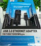 기가비트 근거리 통신망 케이블, 지원 점보 프레임에 USB 3.0