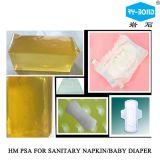 中国の安い生理用ナプキンのPosotioningの接着剤の熱い溶解の接着剤