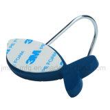 Crochets auto-adhésifs Resuable pour s'arrêter de support de mur de ménage