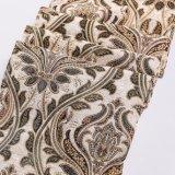 tissu de textile de Chenille de capitonnage de sofa du jacquard 100%Polyester