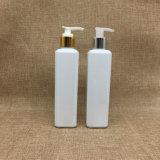 botella cuadrada plástica 8oz de la bomba de la loción del animal doméstico del cuidado de piel 250ml