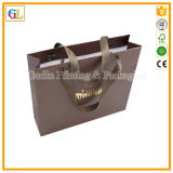 Bolso de papel de lujo de encargo del regalo de las compras (OEM-GL-001)