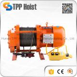 Torno eléctrico de la cuerda de alambre de Kcd/alzamiento eléctrico 750-1500kg 220V/380V