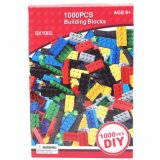 La construction intellectuelle de construction d'éducation de DIY 1000PCS badine le bloc compatible de brique de jouets
