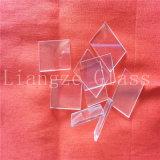 het Glas van de Vlotter van 1.1mm6.6mm/Uiterst dun Glas/Optisch Glas/het Glas van het Blad van de Dekking van de Klok