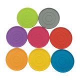 Caboteurs multifonctionnels multicolores de cuvette de Tableau en caoutchouc de silicones de vaisselle de cuisine