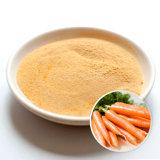 La norma ISO22000 certificados kosher buena retención de agua a granel en polvo de zanahoria deshidratada