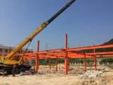 시장을%s 가벼운 모듈 강철 건축 건물