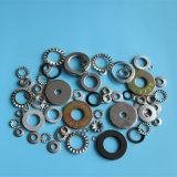 DIN6798j-M10 강철 내부 톱니 모양으로 한 자물쇠 세탁기