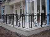 Venta caliente Modern Metal valla de hierro forjado para Jardín de Esgrima