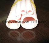 La tubazione di ceramica dell'alta allumina con l'estremità ha filettato