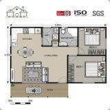 Fácil ensamblado/barato/casa prefabricada/diseño modular portable/movible del edificio del chalet