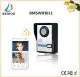 Câmera ao ar livre impermeável do monitor interno video sem fio do Doorbell de WiFi Doorphone