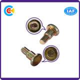 O aço de carbono de DIN/ANSI/BS/JIS/4.8/8.8/10.9 Stainless-Steel galvanizou em volta do Pin da etapa para a indústria mecânica/prendedor