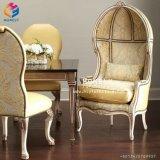 Fábrica chinesa que decora a cadeira Hly-Sf116 do trono do rei e da rainha