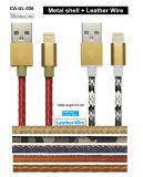 Mfi bestätigte Fabrik-erstklassigen Lederjacke-Blitz zum USB iPhone Aufladeeinheits-Netzkabel für iPhone 8 7 Plus6s 6 SE 5s 5c 5, iPad 2 3 4 PRO die Miniluft, iPod