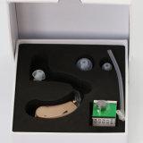 Amplificateur sain d'ajustement ouvert léger et modéré de perte d'acuité auditive