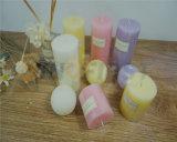 La candela della colonna ha utilizzato la cera pura di 100%, per la decorazione domestica nel natale