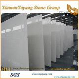 Mármore branco do jade, mármore branco de China, telhas de mármore brancas das lajes de mármore de Whitepolished, assoalho de mármore branco, escadas, cinzelando (YY-MS197)