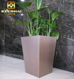 Ha annunciato il POT di fiore gigante del POT della piantatrice dell'acciaio inossidabile