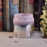 Sostenedores de vela de cristal del Mercury de plata para la vela perfumada