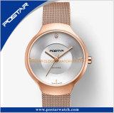OEM及びODMのためのサファイアガラスが付いている特別で簡単なスイス人デザイン腕時計