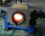 Novo tipo fornalha de derretimento de cobre 10-500kgs do ouro da fornalha de derretimento do aquecimento de indução de IGBT