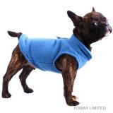 Куртка собаки качества бархата с пальто зимы любимчика пряжки поводка