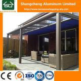 Al aire libre de aluminio de la pérgola con diseño popular