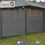 現代屋外の木製の穀物WPCの安全住宅の塀