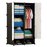 De moderne Garderobe van de Doek van de Opslag DIY van de Garderobes van de Slaapkamer In het groot Grote Draagbare Plastic