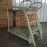 Escada de armazenamento de Máquina / Carrinhos escada/plataforma logística/Plataforma de armazém
