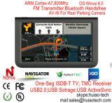"""7.0"""" ПРИБОРНОЙ ПАНЕЛИ Car погрузчик морской навигации GPS с помощью FM-передатчик, Avin камера заднего вида, ручной система навигации GPS, Bluetooth для мобильного телефона,Tmc Tracker, телевизор,"""