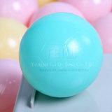 Шарик ямы шарика пластичного дешевого Non токсического малыша доказательства 7cm толкотни мягкого цветастый навальный