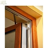 알루미늄 합성 여닫이 창 Windows 입히는 목제 Windows