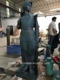 Nationales Sonderzeichen-geworfene Bronzeskulptur-Arbeiten
