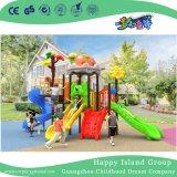 2018 novas folhas coloridas para exterior as crianças do Telhado Combinação Deslize Parque Infantil (H17-20)