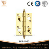 Het h-Type van Hardware van het meubilair de Scharnier van het Messing van de Lancering van de Hoek van de Straal (Hg-1029)