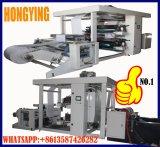 Máquina de impresión flexo de papel Kraft en Color 2, 4 de Color, Color de 6