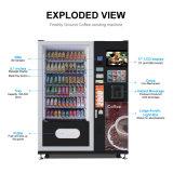 precio de fábrica LV-X01 Snack y Bebida máquina expendedora combinada