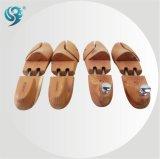 A venda quente personalizada calç a árvore de madeira durável da sapata do cuidado